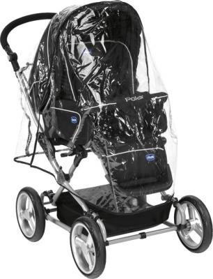 Детская универсальная коляска Chicco Polar Black - дождевик