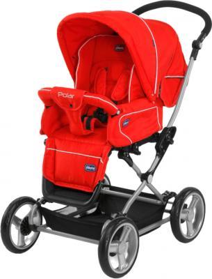 Детская универсальная коляска Chicco Polar (Red) - общий вид