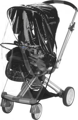 Детская универсальная коляска Chicco Trio I-Move Black - дождевик