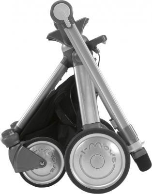 Детская универсальная коляска Chicco Trio I-Move Black - в сложенном виде