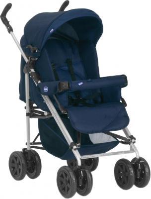 Детская универсальная коляска Chicco Trio Enjoy Fun Blue - общий вид