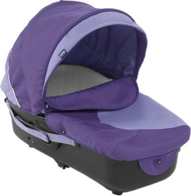 Детская универсальная коляска Chicco Trio Enjoy Fun Purple Gem - люлька
