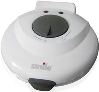 Вафельница Smile WM3601 White - вид сверху