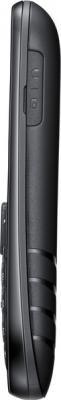 Мобильный телефон Samsung E1202 (черный) - боковая панель