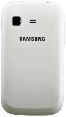 Смартфон Samsung S5302 Galaxy Pocket Duos White (GT-S5302 ZWASER) - задняя панель