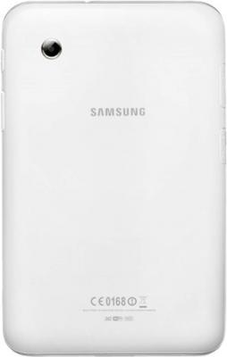 Планшет Samsung Galaxy Tab 2 7.0 8GB 3G Pure White (GT-P3100) - вид сзади