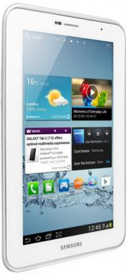 Планшет Samsung Galaxy Tab 2 7.0 8GB 3G Pure White (GT-P3100) - общий вид