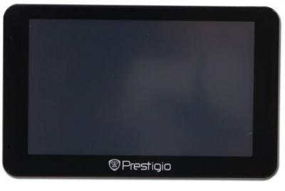 GPS навигатор Prestigio GeoVision 5566 HD BT FM (PGPS5566CIS4BTSMHDNV) - фронтальный вид