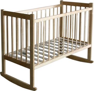 Детская кроватка Лескоммебель Лиза H8-6/2ек (Натуральный цвет) - общий вид