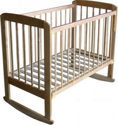 Детская кроватка Лескоммебель Лиза H8-6/4а (Натуральный цвет) - общий вид