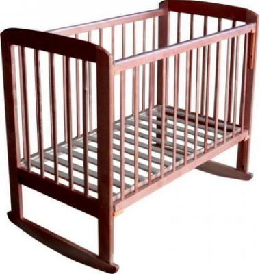 Детская кроватка Лескоммебель Лиза H8-6/4а (Орех) - общий вид