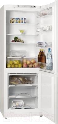 Холодильник с морозильником ATLANT ХМ 6221-000 - внутренний вид