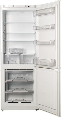 Холодильник с морозильником ATLANT ХМ 6224-060 - общий вид