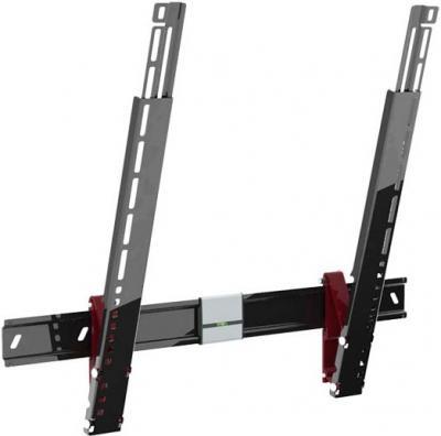 Кронштейн для телевизора Holder LEDS-7022 (черный глянец) - вполоборота