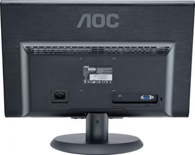 Монитор AOC E2250SWNK - вид сзади