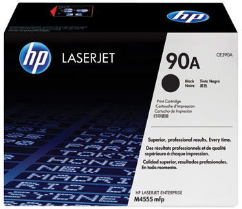Картридж HP 90A (CE390A) - общий вид