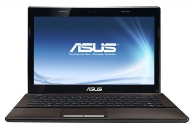 Ноутбук Asus K43E-VX911D - фронтальный вид