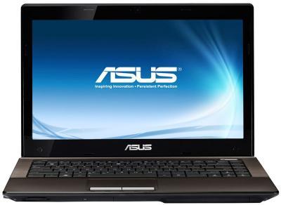 Ноутбук Asus K43TK-VX008D - фронтальный вид
