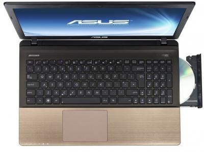 Ноутбук Asus K55VD-SX205D - вид сверху