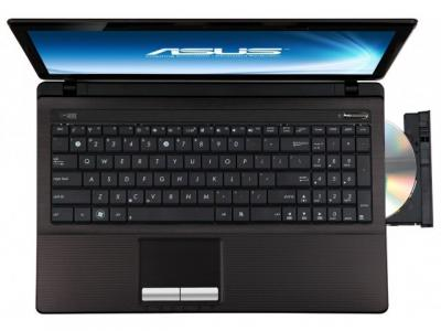 Ноутбук Asus K53TK-SX038D - вид сверху