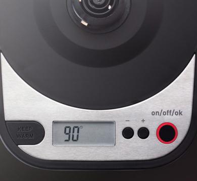 Электрочайник Tefal KI420D30 Precision - LCD-дисплей
