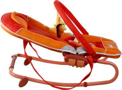 Детский шезлонг Caretero Astral (красный) - общий вид