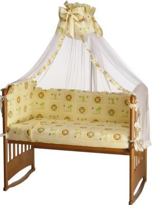 Комплект в кроватку Perina Роза Р7-04.0 (Львята) - общий вид