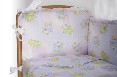 Комплект в кроватку Perina Роза Р6-03.4 (Радуга) - общий вид