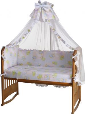 Комплект в кроватку Perina Роза Р6-03.4 (Радуга) - балдахин в комплект не входит