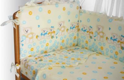 Комплект в кроватку Perina София С7-02.4 (Шарики) - общий вид
