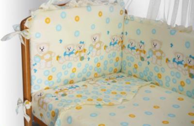 Комплект в кроватку Perina София С6-02.4 (Шарики) - общий вид