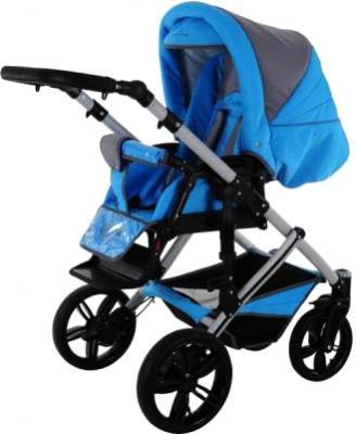 Детская универсальная коляска Bebetto Solaris (D1L/ALU) - прогулочная сидя
