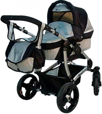 Детская универсальная коляска Bebetto Vulcano (D1L/ALU) - общий вид