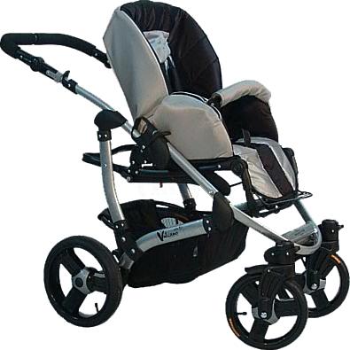 Детская универсальная коляска Bebetto Vulcano (D1L/ALU) - сиденье