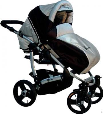 Детская универсальная коляска Bebetto Vulcano (D1L/ALU) - чехол для ног
