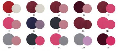 Детская универсальная коляска Bebetto Vulcano (D1L/ALU) - варианты расцветок для девочек
