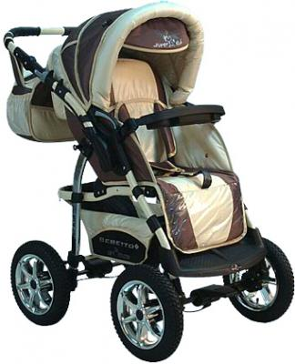 Детская универсальная коляска Bebetto Super Kid (D2LC3R/H1) - прогулочная сидя