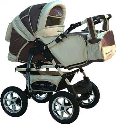 Детская универсальная коляска Bebetto Super Kid (D2LC3R/H1) - общий вид