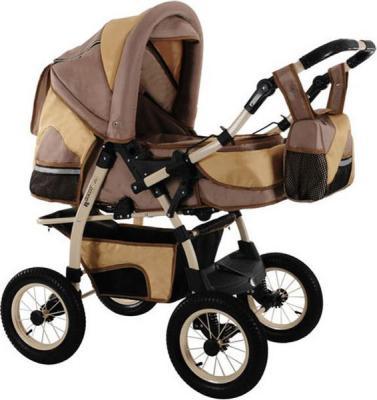 Детская универсальная коляска Izacco Z6 (колеса надувные на спицах) - общий вид с сумкой