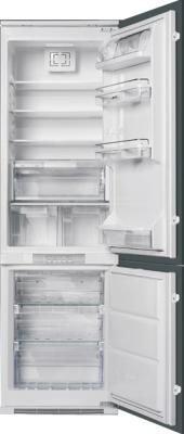Холодильник с морозильником Smeg CR325PNFZ - общий вид