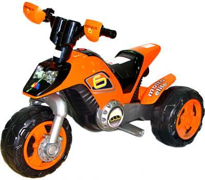 Детский мотоцикл Полесье Molto Elite 6 / 35875 (оранжевый) - общий вид