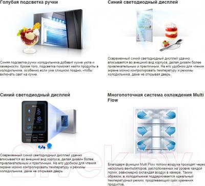 Холодильник с морозильником Samsung RL52TEBIH1/BWT