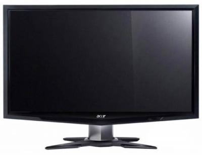 Монитор Acer G236HLBBD (ET.VG6HE.B01) - фронтальный вид