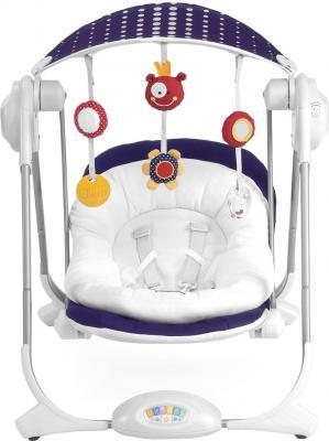 Качели для новорожденных Chicco Polly Swing Purple Rain - вид спереди