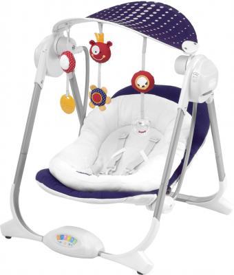 Качели для новорожденных Chicco Polly Swing Purple Rain - общий вид
