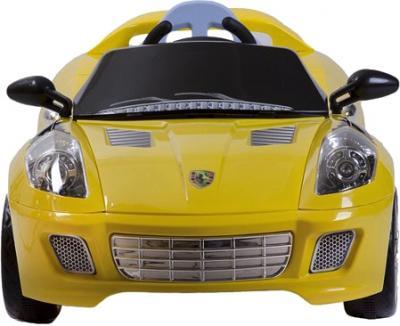 Детский автомобиль KinderKraft ChuChu Ferrari Yellow - вид спереди