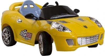 Детский автомобиль KinderKraft ChuChu Ferrari Yellow - общий вид