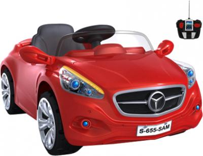 Детский автомобиль KinderKraft ChuChu Mercedes Red - общий вид