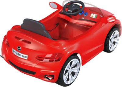 Детский автомобиль KinderKraft ChuChu Mercedes Red - вид сзади