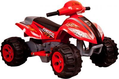 Детский квадроцикл KinderKraft ChuChu Quad Red - общий вид